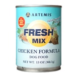 Konzerva Artemis Fresh Mix Chicken Dogs 370g (11+1 zdarma)