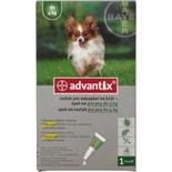 Advantix Spot On pro psy do 4kg (0,4ml)