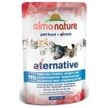 1+1 zdarma - Almo Nature Alternative WET CAT - Atlantský tuňák 55g - expirace 25/9/17