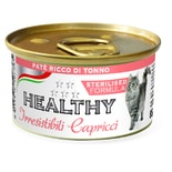 HEALTHY cat paté Sterilised s tuňákem 85 g