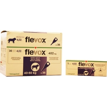 pipeta Flevox spot-on Dog XL (1x4,02ml) 40-60 kg