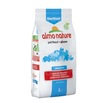 Almo Nature Functional Dry - Sterilised Hovězí a rýže 2kg