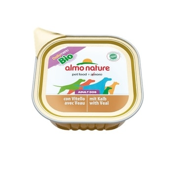 Almo Nature Daily Menu Bio WET DOG - s telecím 100g