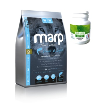 Marp Natural - Senior and Light 2 kg + SUM VISIO 50tbl za výhodnou cenu