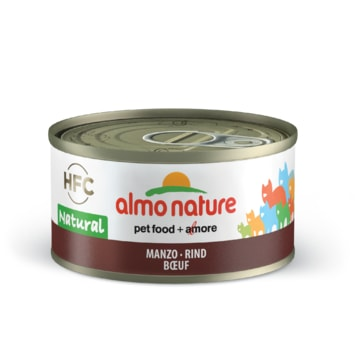 Almo Nature HFC WET CAT- Hovězí 70g