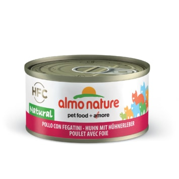 Almo Nature HFC WET CAT- Kuře a játra 70g