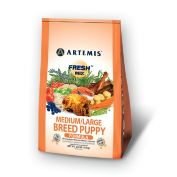Artemis Fresh Mix Medium/Large Puppy 13,6kg (EXP 11/2017)