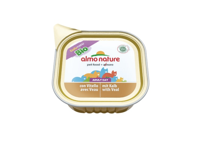 Almo Nature Daily Menu BIO WET CAT - Telecí 100g
