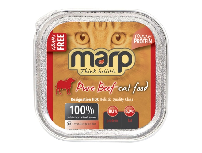 Marp Pure Beef CAT Can Food 100g
