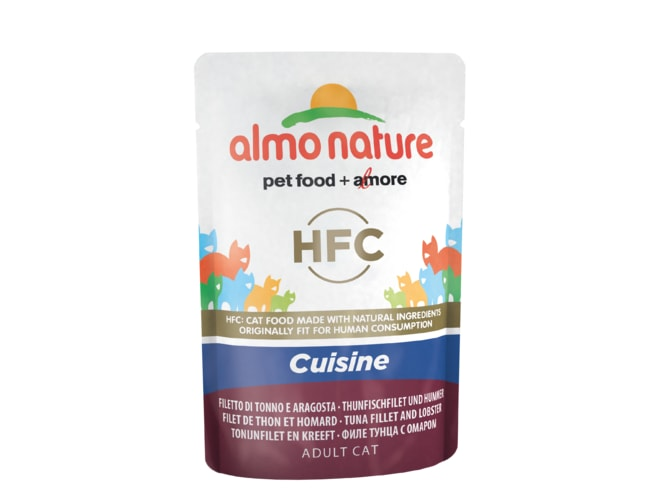 Almo Nature Classic Cuisine WET CAT - Filet z tuňáka a humr 55g