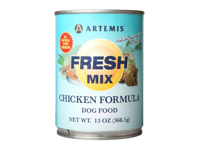 Konzerva Artemis Fresh Mix Chicken Dogs 370g 1+1 ZDARMA