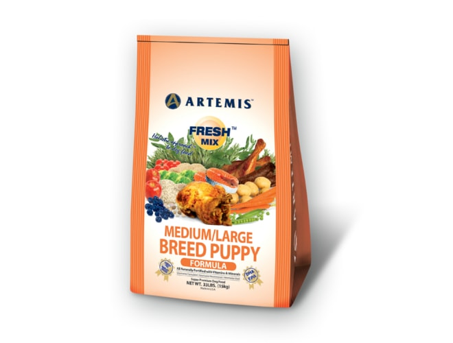 Artemis Fresh Mix Medium/Large Puppy 18,1kg (EXP 11/2017)
