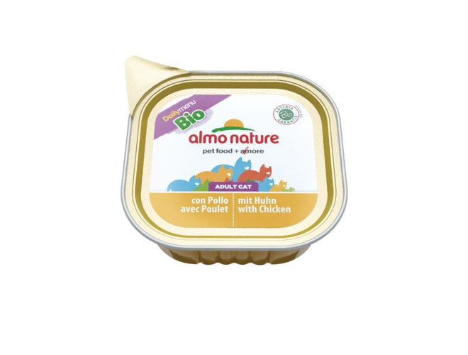 Almo Nature Daily Menu BIO WET CAT - Kuřecí 100g